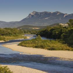 La Drôme, source de rafraîchissement durant l'été